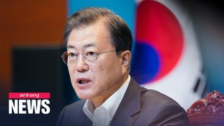 President Moon stresses positive impact of emergency relief payments