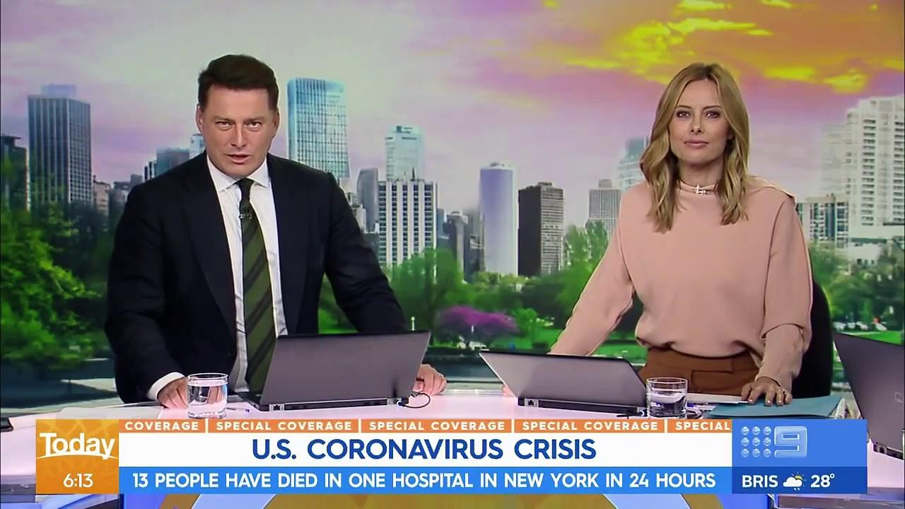 Coronavirus – U.S. deaths pass 1000 _ Nine News Australia-