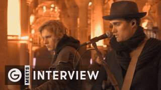 We talked with Bob Moses before the historical cistern show in Istanbul!
