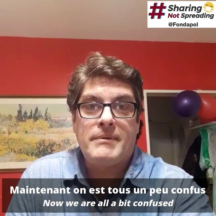 Javier Gonzalez / #SharingNotSpreading