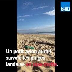 VIDEO - Landes : un petit avion survole les plages en rase-motte et affole les promeneurs