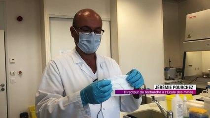 Les chercheurs Stéphanois testentl'efficacité des masques Français