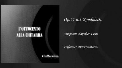 Gabriella Correnti - Rondoletto op.51 - Napoleon Coste