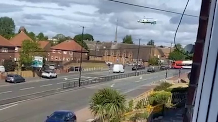 Air ambulance called to medical emergency in Sunderland