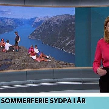 COVID-19; Norge: Ingen sommerferie sydpå i år | TV Avisen | DRTV @ Danmarks Radio