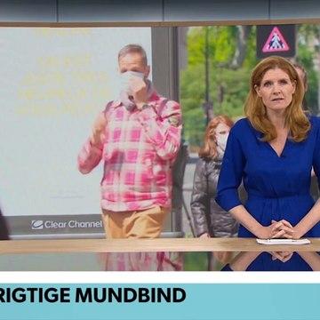 COVID-19; Frankrig: Moderigtige mundbind i Paris | TV Avisen | DRTV @ Danmarks Radio