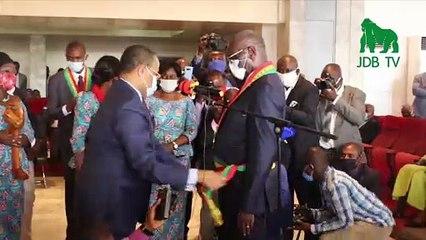 DIEUDONNE BATSIMBA, nouveau maire élu de Brazzaville
