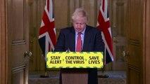 Coronavirus outbreak- UK PM Boris Johnson unveils retail reopening plan - FULL