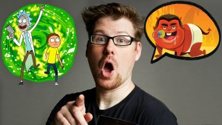 Justin Roiland (Rick and Morty) Improvises 10 New Cartoon Voices