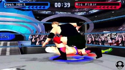 WWF Smackdown! 2 - Owen Hart season #8