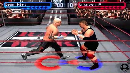 WWF Smackdown! 2 - Owen Hart season #10