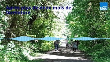 Réouverture de la coulée verte à Auxerre : un air de liberté