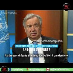 UN General Secretary Antonio Guterres on Infodemics - COVID19