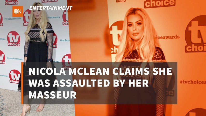 Nicola McLean And Her Masseur