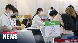 Flight passengers in S. Korea must wear face masks from Wed.