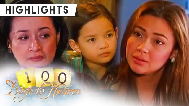 Anna admits that she is afraid of facing her daughter, Rachelle | 100 Days To Heaven