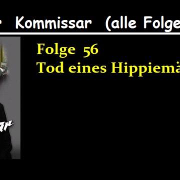 Der Kommissar (56) Tod eines Hippiemädchens