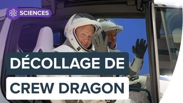 La nouvelle ère du transport spatial avec Crew Dragon | Futura