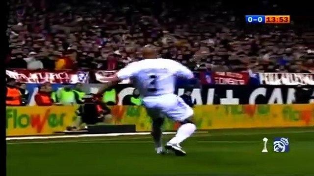 La passe décisive incroyable de Zidane...sans toucher le ballon !