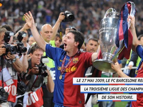LdC - Il y a 11 ans, le Barça remportait la troisième C1 de son histoire