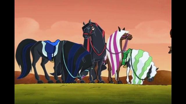 Horseland   2 Heures   dessin animé complet en Français prt 2/3