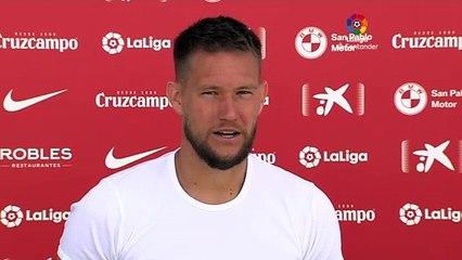 Tomas Vaclik analiza la actualidad del Sevilla FC