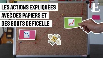 Eureka #4: Les actions expliquées avec des papiers et des bouts de ficelle