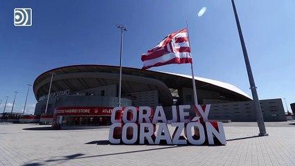 El Atlético de Madrid se suma al homenaje a los fallecidos por coronavirus