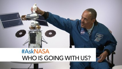 #AskNASA - Who Is Going With Us?