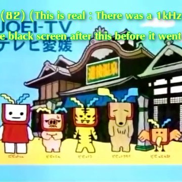 All the 128 Japanese Analogue TV Shutdown Shots (Part 4)