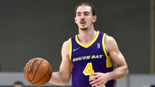 Alum Alex Caruso On How 100+ Games In The G League Helped His Career