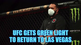 Nevada grants UFC approval to host events in Las Vegas