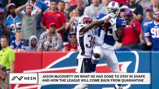Patriots cornerback Jason McCourty on How the NFL Will Transition Out Of Quarantine