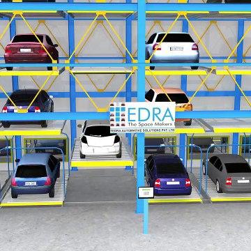 Mechanical Car Parking | Puzzle Parking System - Tedra Automotive Solutions