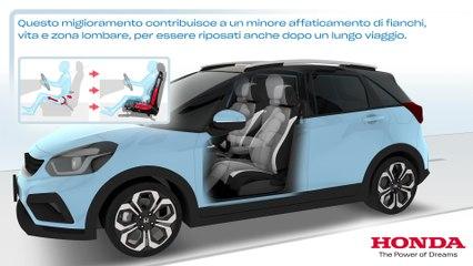 La nuova Honda Jazz e:HEV ibrida è l'auto più confortevole della sua categoria