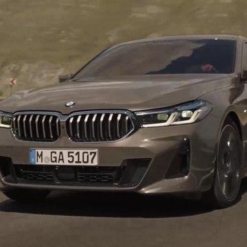 The new BMW 6 Series Gran Turismo Trailer
