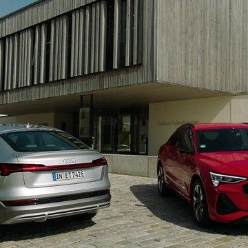 The new Audi e-tron Sportback Preview