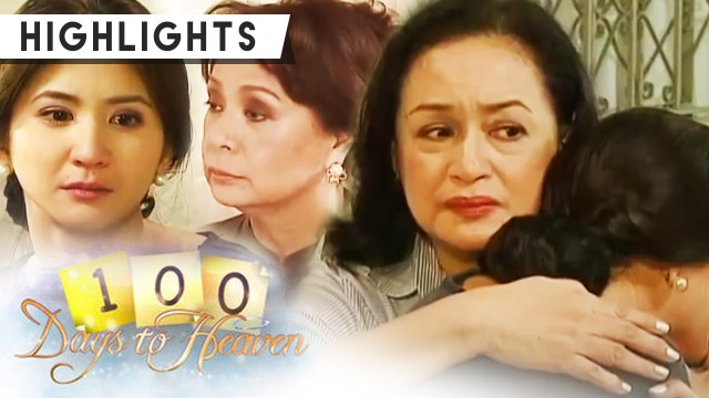 Anna comforts Rachelle as she recalls proving herself to Mrs  Bustamante | 100 Days To Heaven