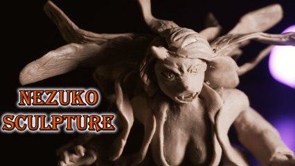 Sculpting Demon Kamado Nezuko - Demon Slayer- Kimetsu no Yaiba