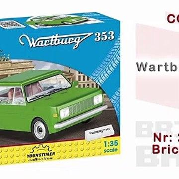[COBI] Cobi Wartburg 353 - Speedbuild (Youngtimer Series No. 24542)