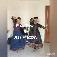 'Piya Tose' Dance Performance   YaYa Sisters   Talent Hunt