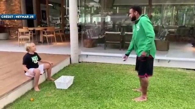 La blague douteuse de Neymar à son fils