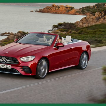 Mercedes-Benz's new E-Class coupé and cabriolet