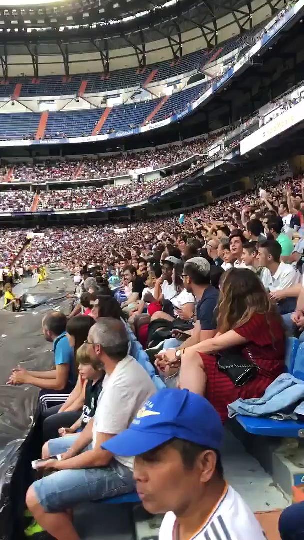 Le jour où les fans du Real ont chanté pour Mbappé lors de la présentation d'Hazard