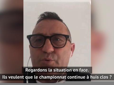 """Serie A - Di Livio : """"Je suis contre la reprise"""""""