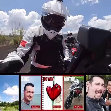Indian FTR 1200 cc test ride review Bali Indonesia