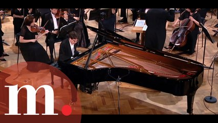 Lucas Debargue gives his first-ever performance with an orchestra at the TCH15 final