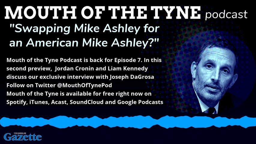 A preview from the Mouth of the Tyne podcast - May 28 edition