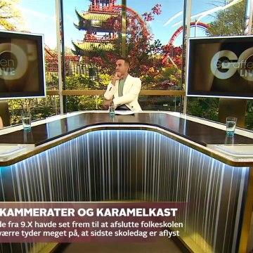 COVID-19; Farvel til kammerater samt karamelkast & Corona ødelægger efterskoleår | Go aften Live | TV2 Danmark