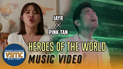 Jay R, Pink Tan - Heroes of the World